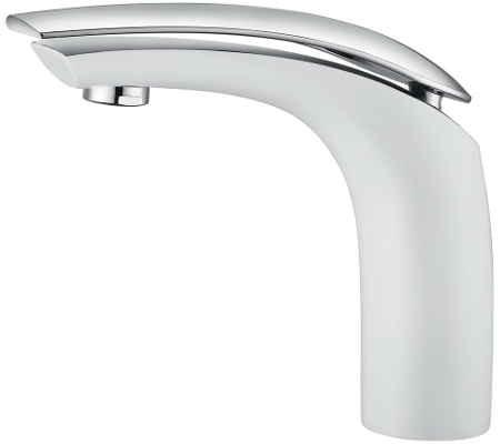 Celine Basin Mixer White/Chrome