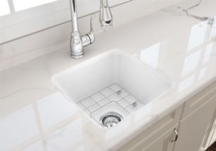 Cuisine 46x46 Inset/Undermount Fine Fireclay Sink