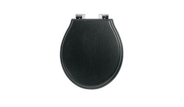 Chelsea Black Solid Timer Soft Close Seat (sold separately)