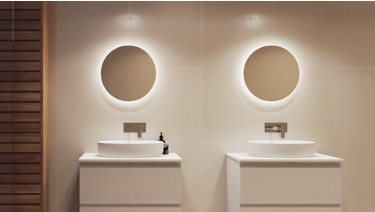 Oxford Mirror with Optional Led Lighting