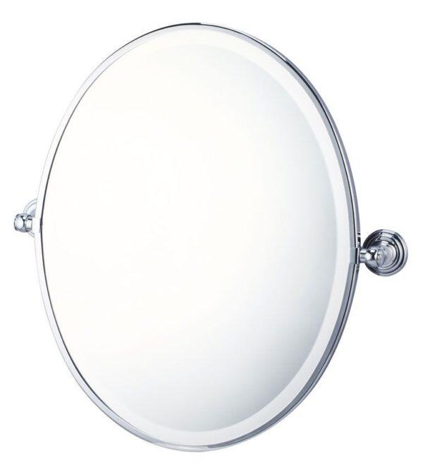 Mayer Pivot Mirror Brushed Nickel Finish