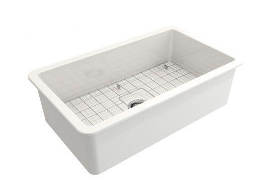 Cusine 81 x 48 Inset / Undermount Fine Fireclay Sink